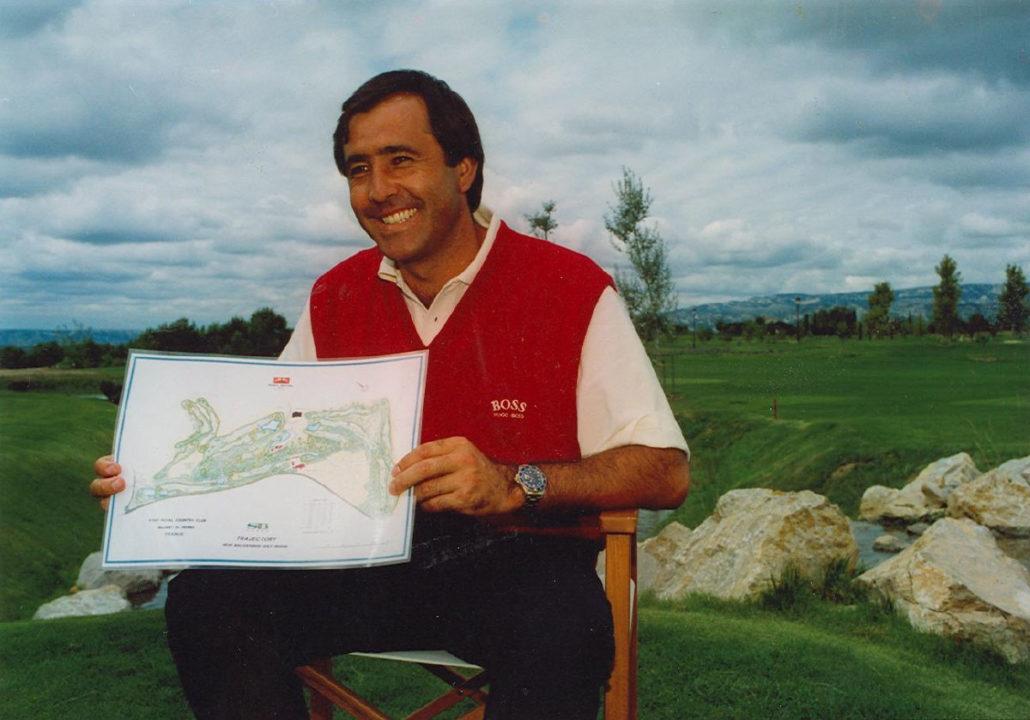 Golf International de Pont Royal - Signé Severiano Ballesteros